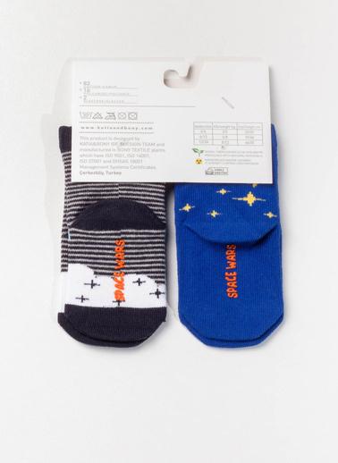 Katia & Bony 2'li Çorap Siyah